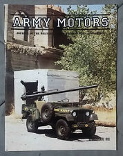 1993 #62 WINTER ARMY MOTORS MILITARY MAGAZINE 1954 WILLYS JEEP M38AIC RECOILESS
