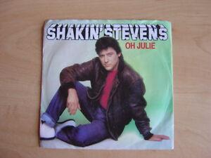 "Shakin' Stevens: Oh Julie 7"": 1982 UK Release: Picture Sleeve"