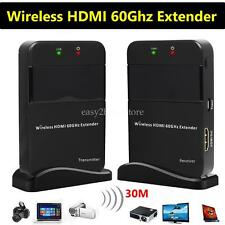 30M 98ft HD 1080P Wireless HDMI 60G Extender Transmitter Receiver WIHD HDCP DTS