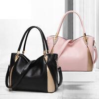 New Women PU Leather Handbag Shoulder Bags Tote Purse Messenger Hobo Satchel Bag