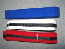 New Martial Arts 1-1/2 Wide Double Wrap Karate Taekwondo Color Belts