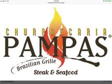 $25 PAMPAS CHURRASCARIA GIFT CERTIFICATE VOUCHER LAS VEGAS PLANET HOLLYWOOD