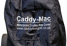 CADDY-MAC Waterproof Trolley Bag Cover and clip-on Carry Bag. FREE POSTAGE