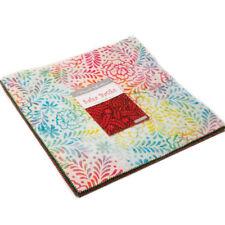 "Moda FABRIC Layer Cake ~ SALSA BATIKS ~  42 - 10"" squares"