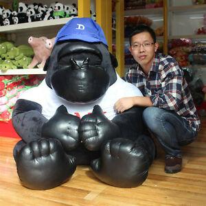 "47""Giant Plush Gorilla Orangutan Soft Toys Doll Stuffed Animal Birthday Gift US"