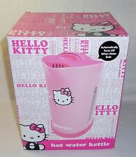 New Hello Kitty Hot Water Kettle Pink Tea Kettle Electric Plug 1.7 Liter 1500W
