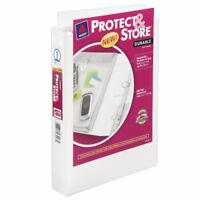 """Avery Protect & Store Mini Durable View Ring Binder - 5.50"""" X 8.50"""" - 175 Sheet"""