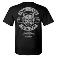 Iron Lifters Unlimited Weightlifting T-Shirt by Ironville Clothing