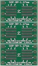 "3 PCS. - SO8,SOP8,SOIC8 1.27mm(0.05"") naar DIP8 0.6"" socket. [NL]"