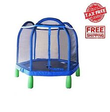 Sportspower My First Trampoline Enclosure Indoor Outdoor Kids Play Games Toys US