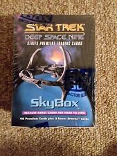 Star Trek Deep Space Nine DS9 1993 Trading Card Set Sky box 48 Cards Sealed
