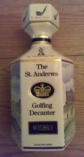 Pointers of London & Edinburgh St Andrews Golf Course Golfing Decanter Porcelain