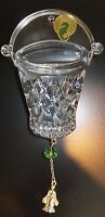 Waterford Crystal 2014 12 Days 8 Maids Ornament with Enhancer New # 164578