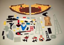 Toy Lot - Lego Ship and Pirate Action Figures plus Parts Accessories Viking
