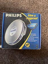 Philips AX2330/00 JOG PROOF Portable Personal CD Player Walkman - FREE UK P&P
