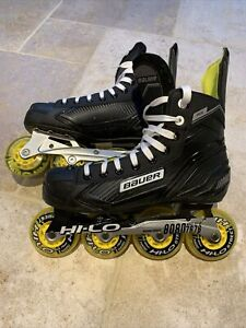 Bauer RH RS Roller Hockey Inline Skates UK7.5 / EU42 / US8.5
