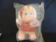 Old Vtg 1988 McDonald's Baby Miss Piggy Muppets Christmas Doll In Packaging