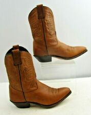 Ladies Code West Brown Leather Western Cowgirl Boots Size: 6 M