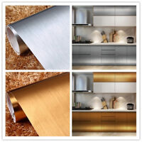 Vinyl Metallic Self adhesive Wallpaper Furniture Wall Stickers Kitchen Decor