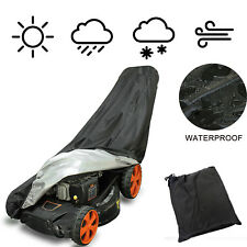 Universal Waterproof Walk Behind Lawn Mower Cover Storage Sun Dust UV Protector