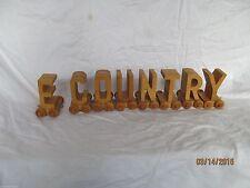 Lot of wooden letters on wheels wooden train letter lot