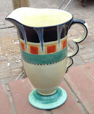 Beswick  Art Deco Handcraft Hand Painted Jug  Rare 1930s