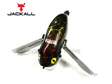 Jackall pompadour floating topwater noisy cod surface lure Black Snake