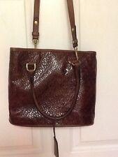 Leather Company by Liz Claiborne ladies handbag brown H20
