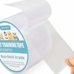 Anti-Scratch Pet Cat Tape Roll Clear Sticker Sofa Furniture Door Protector Guard