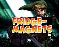 """Nintendo Nes Snes N64 Gamecube PICK ONE 2.5""""x3.5"""" FRIDGE MAGNET * ZELDA LINK *"""