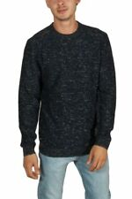 Maglione Girocollo Uomo Globe Spacer Black Nero Cotone Winter Men Sweatshirt