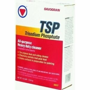 Two (2) Savogran 10622 4.5 Pound TSP Trisodium Phosphate Heavy Duty Cleaner