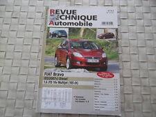 REVUE TECHNIQUE FIAT BRAVO DIESEL 1.6 JTD 16V MULTIJET DEPUIS 03/2007