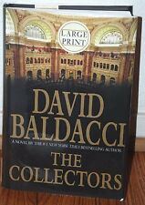 "SIGNED ""The Collectors"" Large Print by David Baldacci NEW HC/DJ Unread Rare B2"