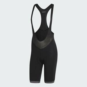 Adidas Women's High Performance Supernova Cycling Bib Shorts AZ7348 Sz L