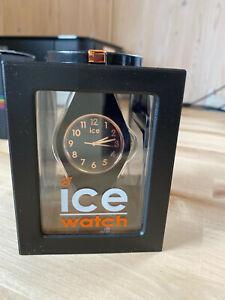 Ice Watch Armbanduhr Unisex ICE glam Black Rose-Gold – Medium NEU