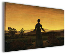 Quadro moderno Caspar David Friedrich vol X stampa su tela canvas famosi