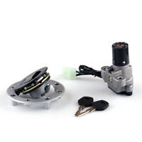 Ignition Switch Lock & Fuel Gas Cap Key Set For Suzuki GSX750 GSX600 1989-97 A05