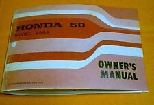 HONDA Z50 Z50A MINI TRAIL OWNERS MANUAL RARE LOOK