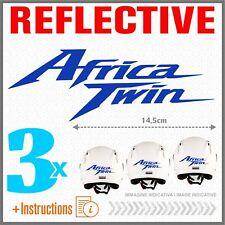 3x Africa Twin Blu Rifrangente HONDA CRF1000L ADESIVI CRF 1000 L 2016 CRF1000