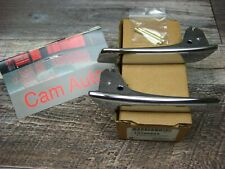 Chevy GMC Cadillac Inside Front Chrome Door Handle Kit with Pins OEM NEW 2007 +