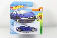 Hot Wheels 2019 '17 Acura NSX BLAU metallic BLUE Exotics NEU OVP 9/10 FYC34