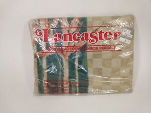 May Company Department Store Lancaster Twin Flat Sheet Vintage No-Iron Percale