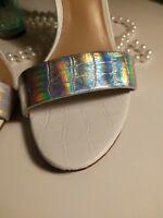Carvela Kurt Geiger UK3/EU 36/Holographic/Perspex Heel/ Worn Once/ Party Shoes