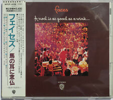 Rod Stewart & Faces A Nod Is As Good As A Wink 1990 WARNER BROS WPCP-4038 JAPAN
