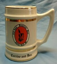 U.S. NAVAL PROPELLANT PLANT INDIAN HEAD, MD. STEIN MADE BY BUNTING WELLSVILLE,OH