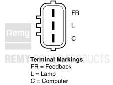 Remanufactured Alternator 11086 Remy