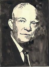 Portrait original de Dwight EISENHAUER
