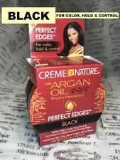 Creme of Nature PERFECT EDGES EDGE CONTROL BLACK COVERS GRAY ROOTS 2.25 oz