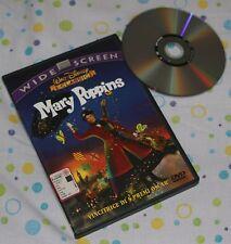Mary Poppins - Walt Disney (DVD; 1965) *WIDESCREEN/OLOGRAMMA TONDO/SIAE ROSA*.